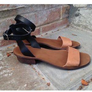Madewell slingback sandal mule heel Alexa chung